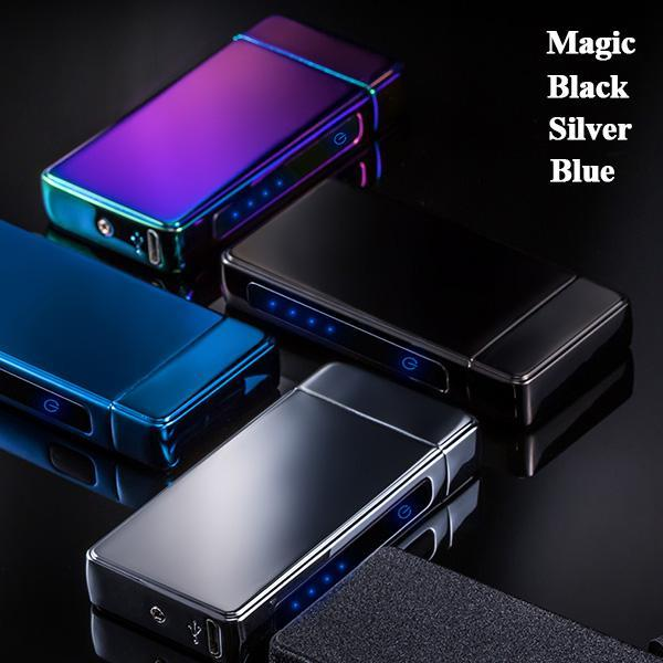 Customize USB Windproof Photo Electronic Lighter